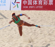 Brasil team lima diving save Stock Photo
