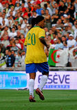Brasil vs Algeria Royalty Free Stock Photo