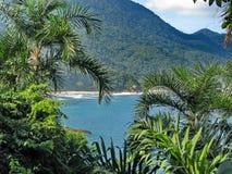 Brasil: zadziwiający Costa Verde ( Obraz Royalty Free