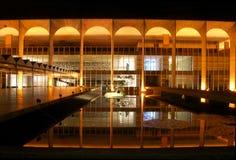Itamarati Palace in Brasilia stock photo