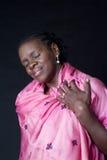 Brasilen@o africano mayor de la mujer fotos de archivo