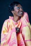 Brasilen@o africano mayor de la mujer foto de archivo libre de regalías