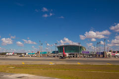 Brasilia, Brésil - 17 juin 2017 : Aéroport de Brasilia Internacional Photographie stock libre de droits
