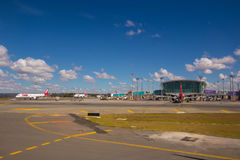 Brasilia, Brésil - 17 juin 2017 : Aéroport de Brasilia Internacional Image libre de droits