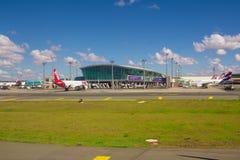 Brasilia, Brésil - 17 juin 2017 : Aéroport de Brasilia Internacional Images stock