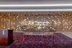 Treaty Room - Sala dos Tratados - at Itamaraty Palace interior - Brasilia, Distrito Federal, Brazil. Brasilia, Brasil - Aug 29 2018: Treaty Room - Sala dos royalty free stock photos