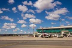 Brasilia, Brasile - 17 giugno 2017: Aeroporto di Brasilia Internacional Immagine Stock Libera da Diritti