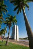 Brasilia, Brazil – APRIL 10 2016 - The Nacional Congress of Br Stock Photo