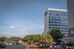 Comptroller General of the Union - Controladoria Geral da Uniao - CGU - Brasilia, Distrito Federal, Brazil. Brasilia, Brazil - Aug 27, 2018: Comptroller General stock image