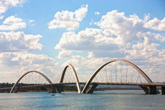 brasilia Brazil bridżowy juscelino kubitschek obraz stock