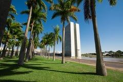 """Brasilia, Brazilië †""""10 APRIL 2016 - het Nacional-Congres van Br stock fotografie"""