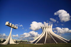 Free Brasilia Cathedral Royalty Free Stock Photo - 10955975