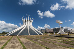 Brasilia Cathedral - Brasília - DF - Brazil Stock Photo
