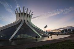 Brasilia Cathedral - Brasília - DF - Brazil Royalty Free Stock Image