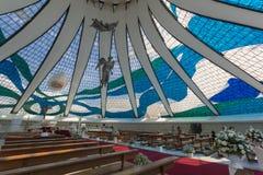 Brasilia Cathedral - Brasília - DF - Brazil Stock Photos