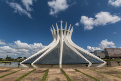 Brasilia Cathedral - Brasília - DF - Brazil Royalty Free Stock Photos