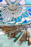 Brasilia Cathedral - Brasília - DF - Brazil Royalty Free Stock Photography
