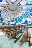 Brasilia Cathedral - Brasília - DF - Brazil Royalty Free Stock Photography