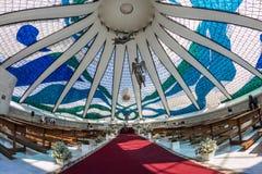 Brasilia Cathedral - Brasília - DF - Brazil Stock Photo