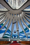 Brasilia Cathedral Brazil royalty free stock photos