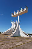Brasilia Cathedral Brazil Royalty Free Stock Photography