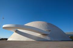Brasilia complejo cultural el Brasil Imágenes de archivo libres de regalías