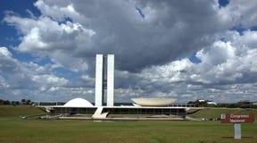Brasilia congres Royalty-vrije Stock Afbeeldingen
