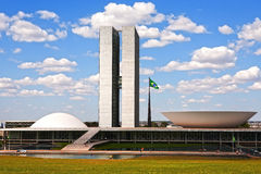 Brasilia district federal  brasila Royalty Free Stock Image