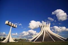 Brasilia domkyrka Royaltyfri Foto
