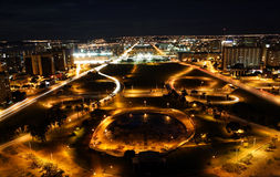 Brasilia by night royalty free stock images