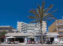 Brasilia restaurant Playa de Palma Royalty Free Stock Photography