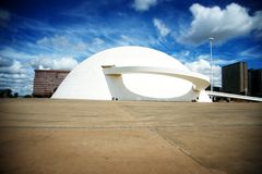 Brasilia's National Museum of the Republic Stock Photos