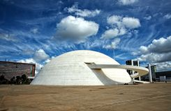 Brasilia's National Museum of the Republic Stock Images