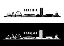 Brasilia skyline Stock Photos