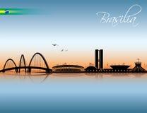 Brasilia skyline Stock Photography