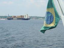 Brasilian河 免版税库存照片