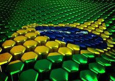 Brasilian background  theme - 3D render Stock Photos