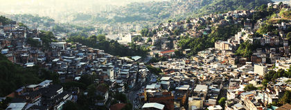 Brasilian Favela Стоковые Изображения