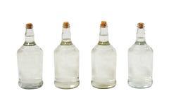 Brasilianische cachaca Flaschen Lizenzfreie Stockfotos