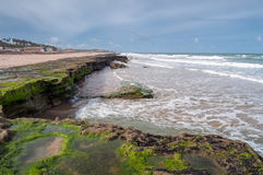 Brasilianische Küstenlinie Stockfotos