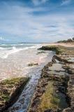 Brasilianische Küstenlinie Stockfotografie