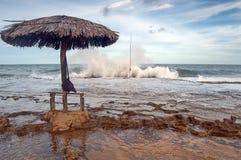 Brasilianische Küstenlinie Lizenzfreies Stockfoto