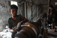 Brasilianische Kinderarbeit Lizenzfreie Stockbilder