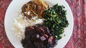 Brasilianische Nahrung Stockfotos