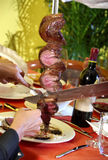 Brasilianische Nahrung Stockfoto