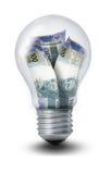 Brasilianische Peso-Glühlampe Lizenzfreie Abbildung
