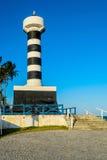 Brasilianische Strände-Pontal tun Coruripe, Alagoas Stockbild