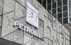 Brasilianischer Öl-Riese, Petrobras-Hauptsitze in Rio de Janeiro, Brasilien lizenzfreie stockfotos