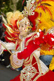 Brasilianischer Karneval. Stockfotografie