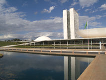 Brasilianischer Nationalkongreß Stockfotos